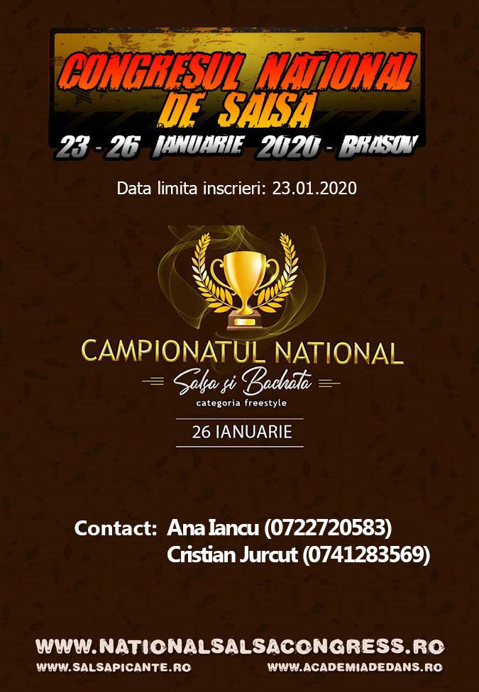 Campionatul National la Salsa si Bachata
